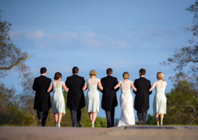 bridal-party-walking