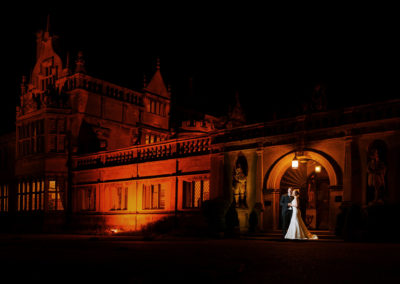 bride-and-groom-at-night-rushton-hall