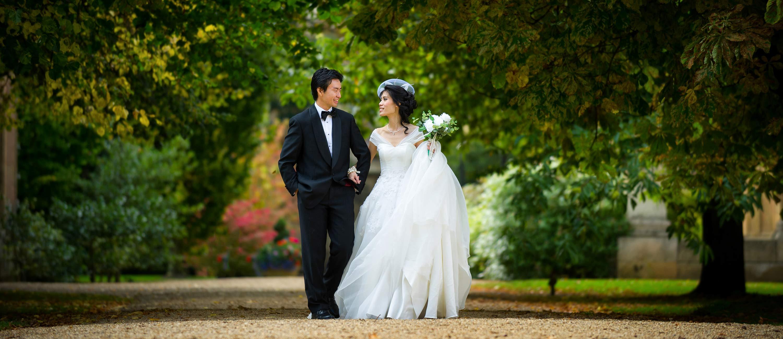 downing college wedding photographer