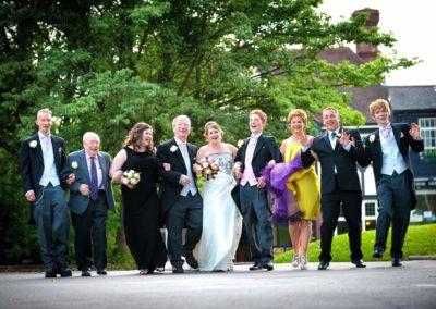bridal-party-having-fun